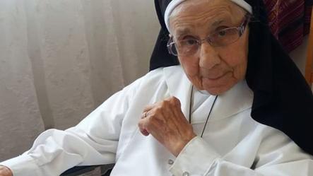 Rezamos por el eterno descanso de la hna. María Nazarena