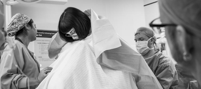 Brisbane C-section Birth Photography