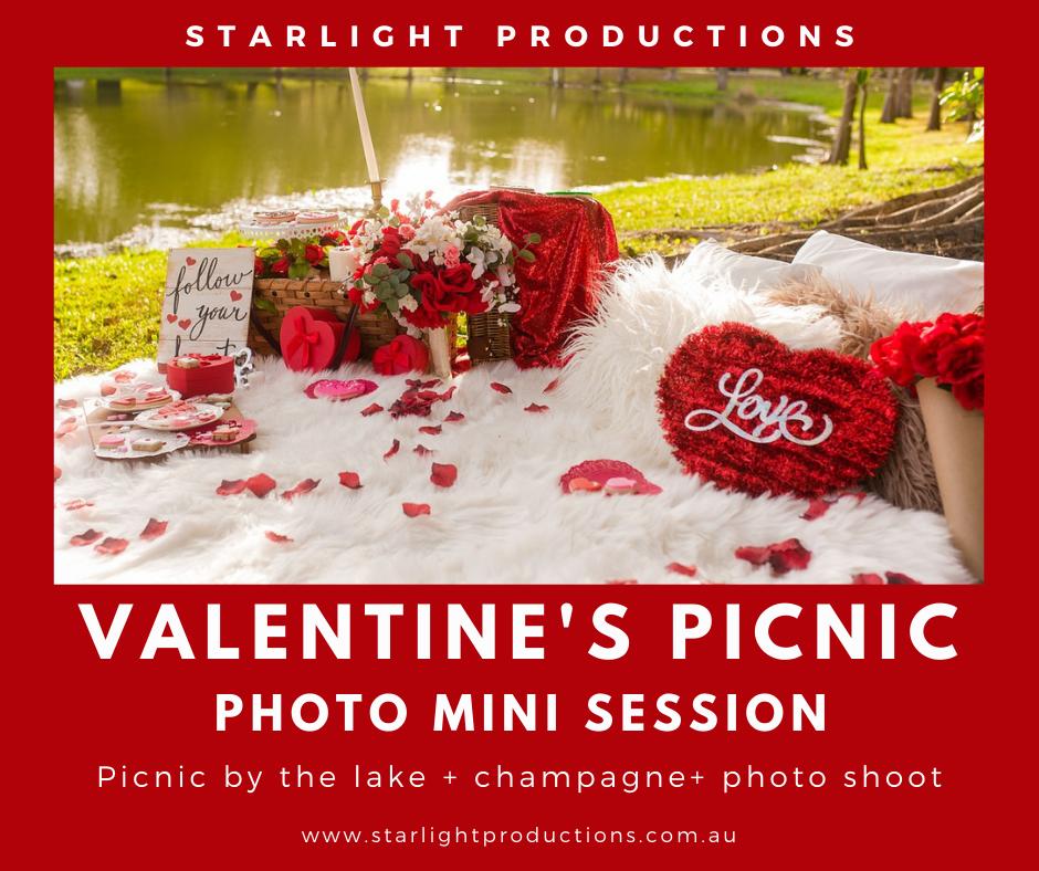 Valentines Day Picnic & Photo