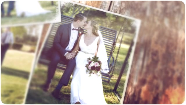 James & Natalie's wedding photoslide video