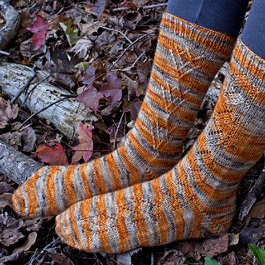 Autumnal Socks