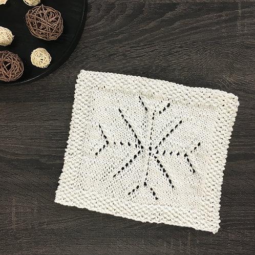 Lacy Snowflake Dishcloth