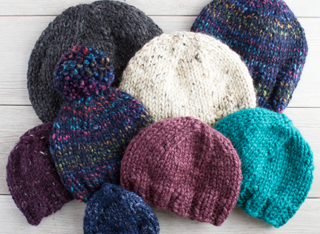 Free Knitting Pattern: My Favorite Simple Knit Hat