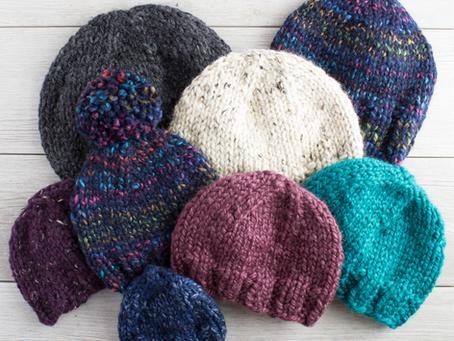 Free Knitting Pattern: My Favorite Simple Knit Hat