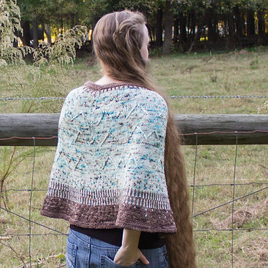 Going to the Mountains Poncho