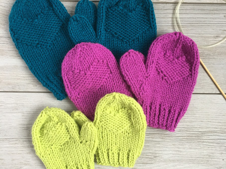 Behind the Design: Hidden Love Mittens: Design Inspiration & Yarn + Color Recommendations