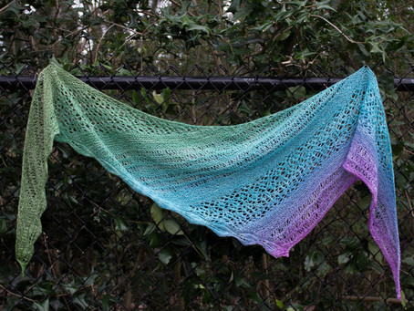 Spring Meadows Shawl: Designing Behind the Scenes