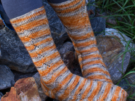 Autumnal Socks Knitting Pattern: Yarn Recommendations