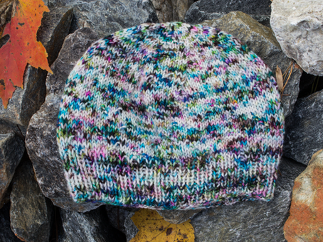 Hustle and Bustle Hat Knitting Pattern: Yarn Recommendations