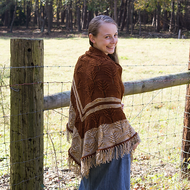Where the Buffalo Roam Shawl