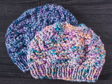 Windy Shores Hat Knitting Pattern: Yarn Recommendations