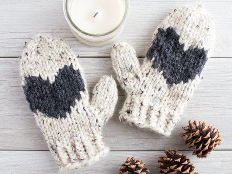 With Love, From the North (Mittens): Pattern Inspiration & Yarn Suggestions