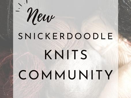 NEW Knitting Community - Fiber, Friendship + More