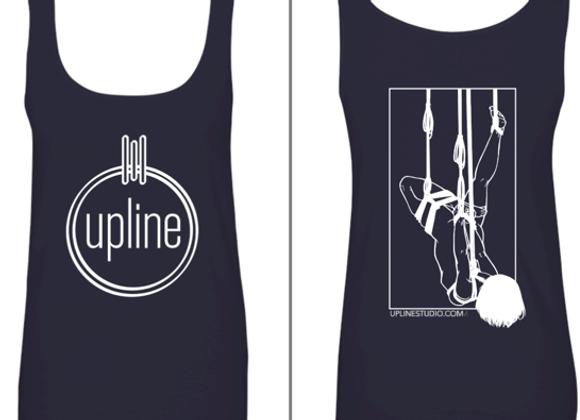 Tank Top with Upline Logo and Graphic Back
