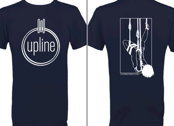 T-shirt with Upline Logo and Graphic Back