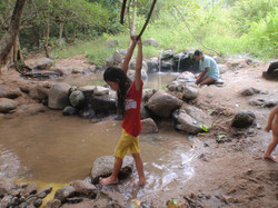 Sulpur hot springs Chiang Mai