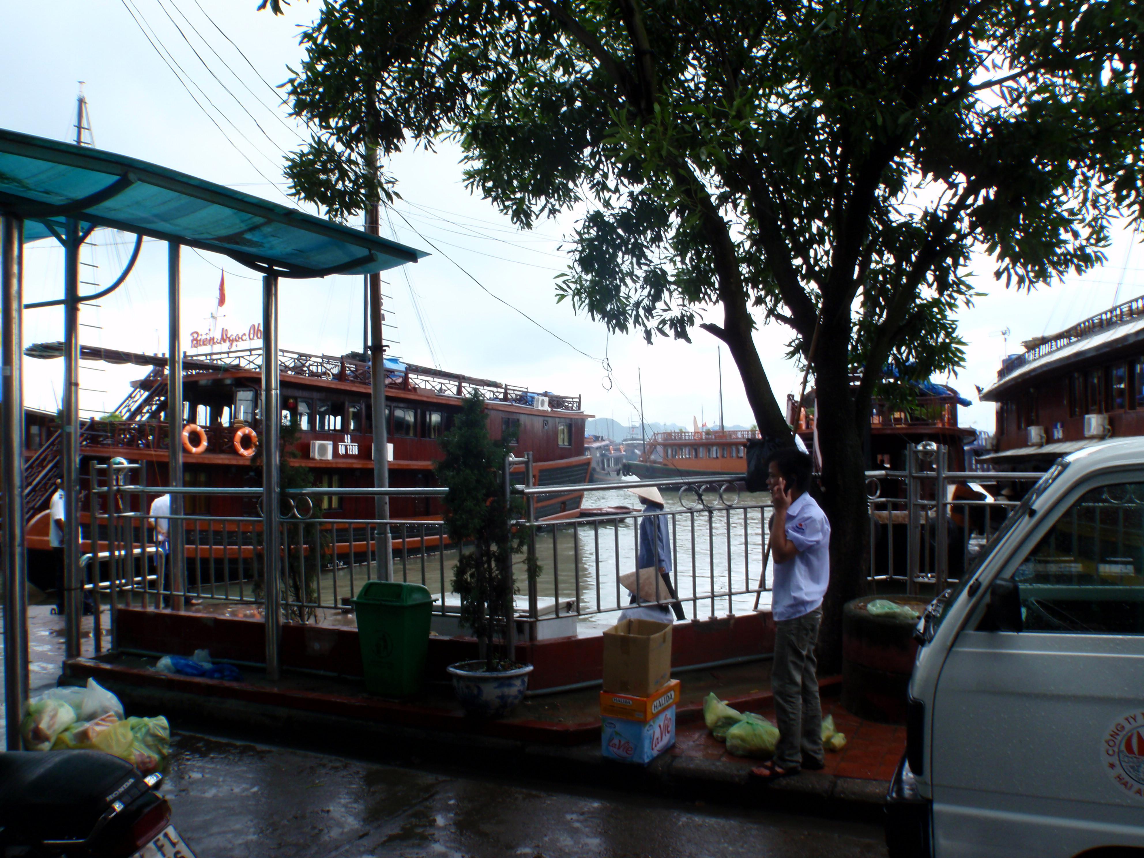 Halong Bay waiting for explore