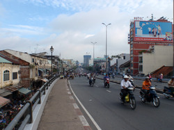 Ho Chi Minh bridge crossing