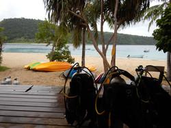 Diving at Paradise Cove Resort