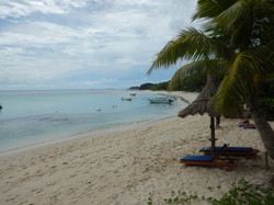Beach stretches on