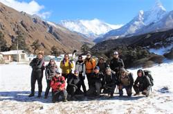 Tengboche  massifs of Everest