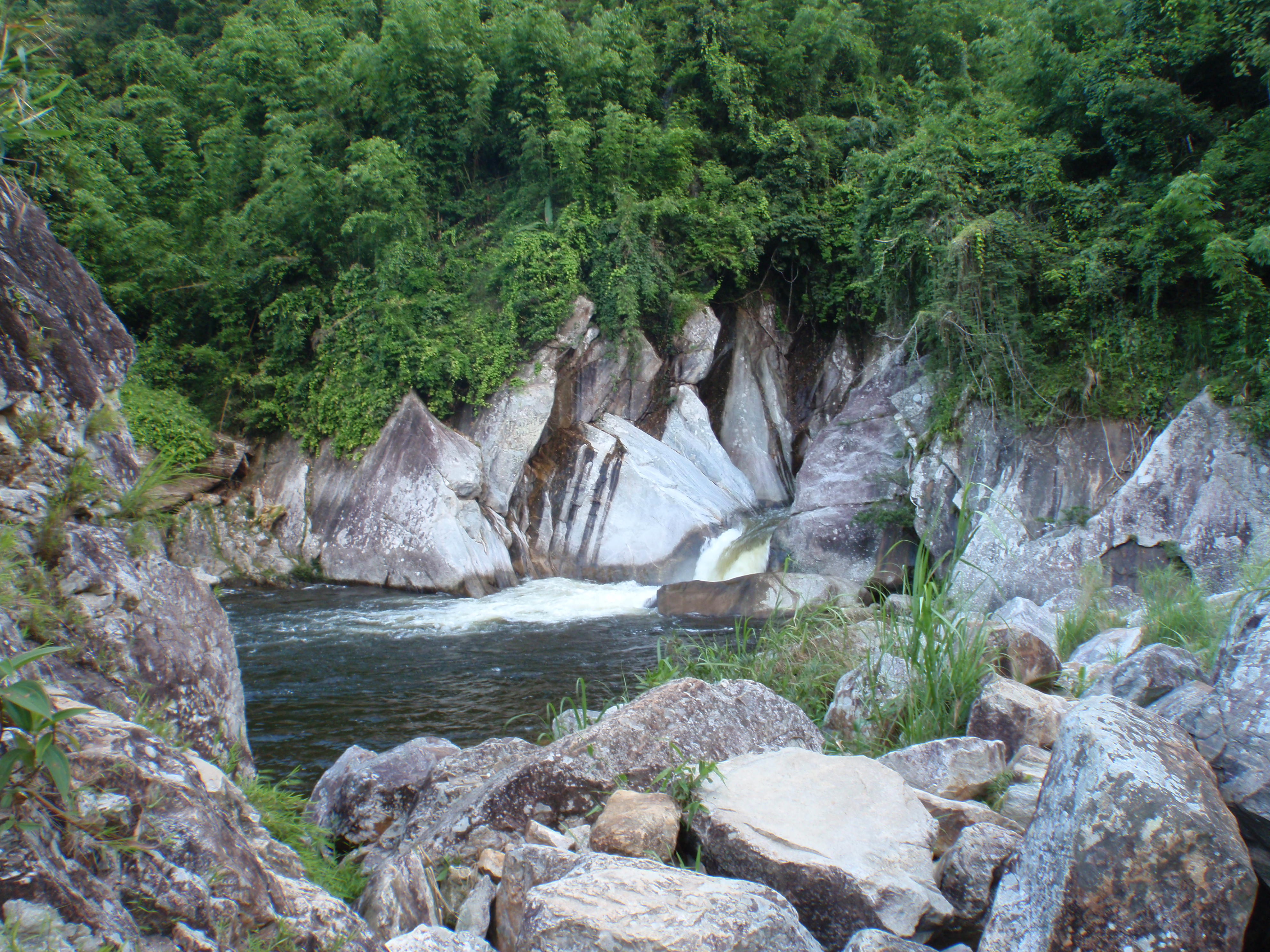 Waterfall. refreshing near the end o