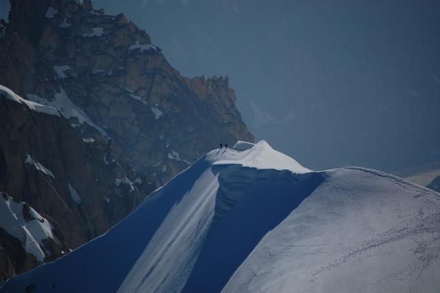 Climb the ridge