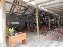 open airy restaurant