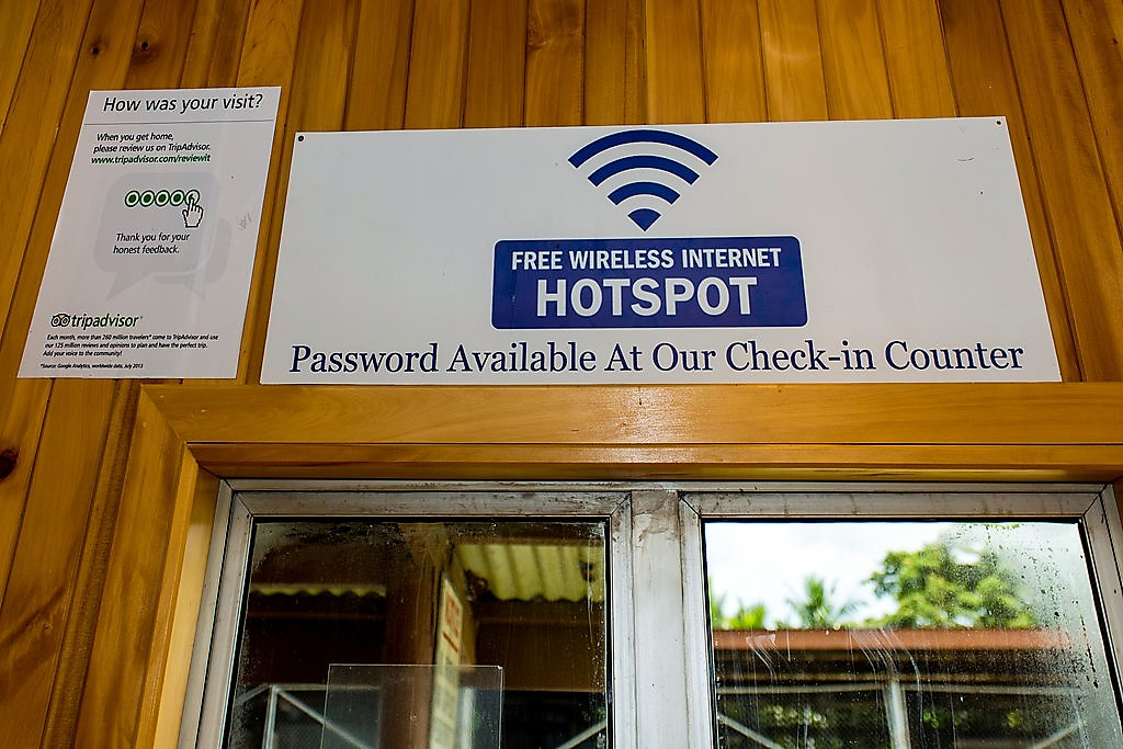 Hotspot for contact
