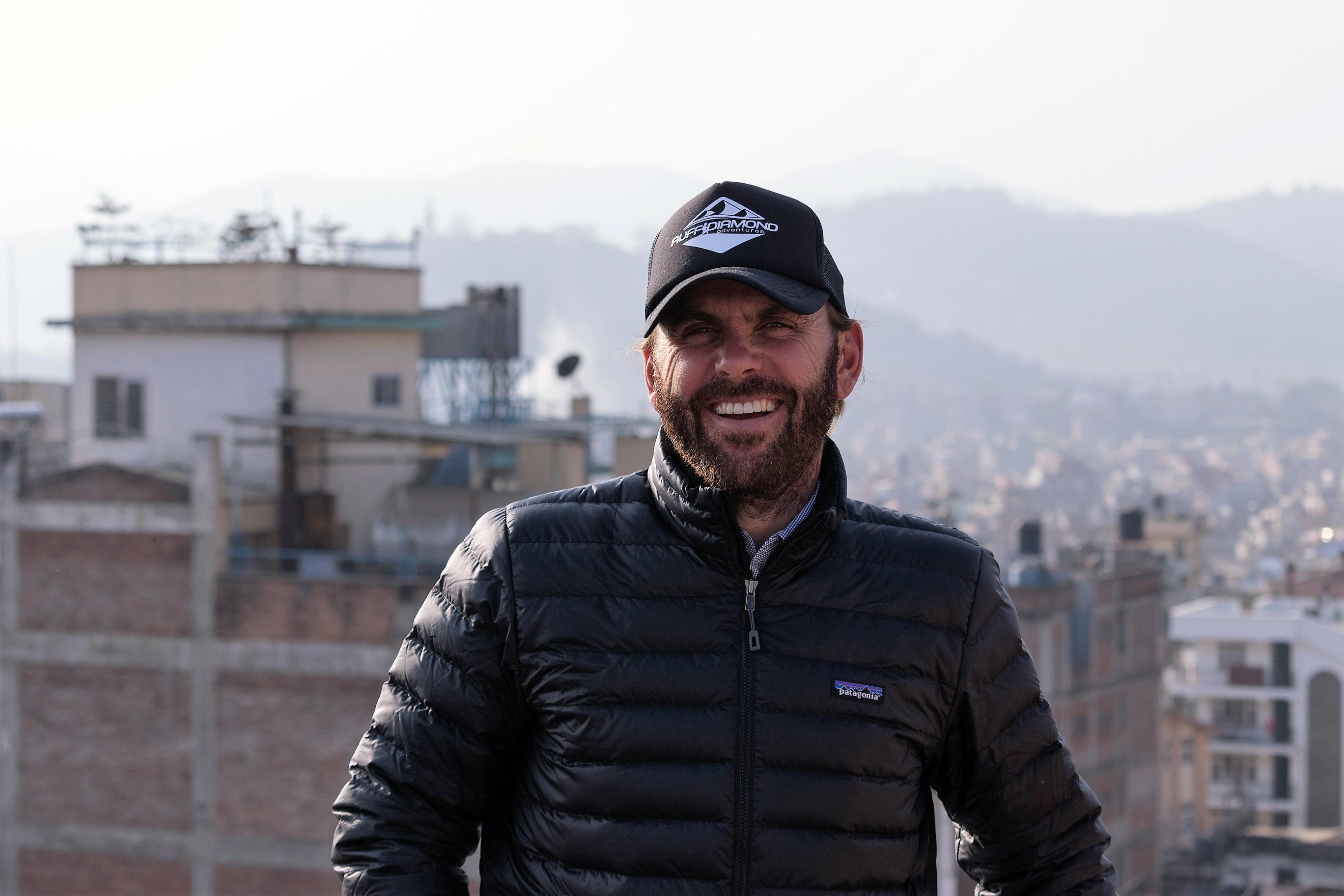 The man Seb at Thamel, Kathmandu