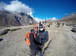 en-route to Everest Base Camp