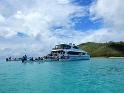 SIster company South Sea Cruises