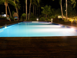 Massive pool area