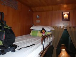 Cabin room on board