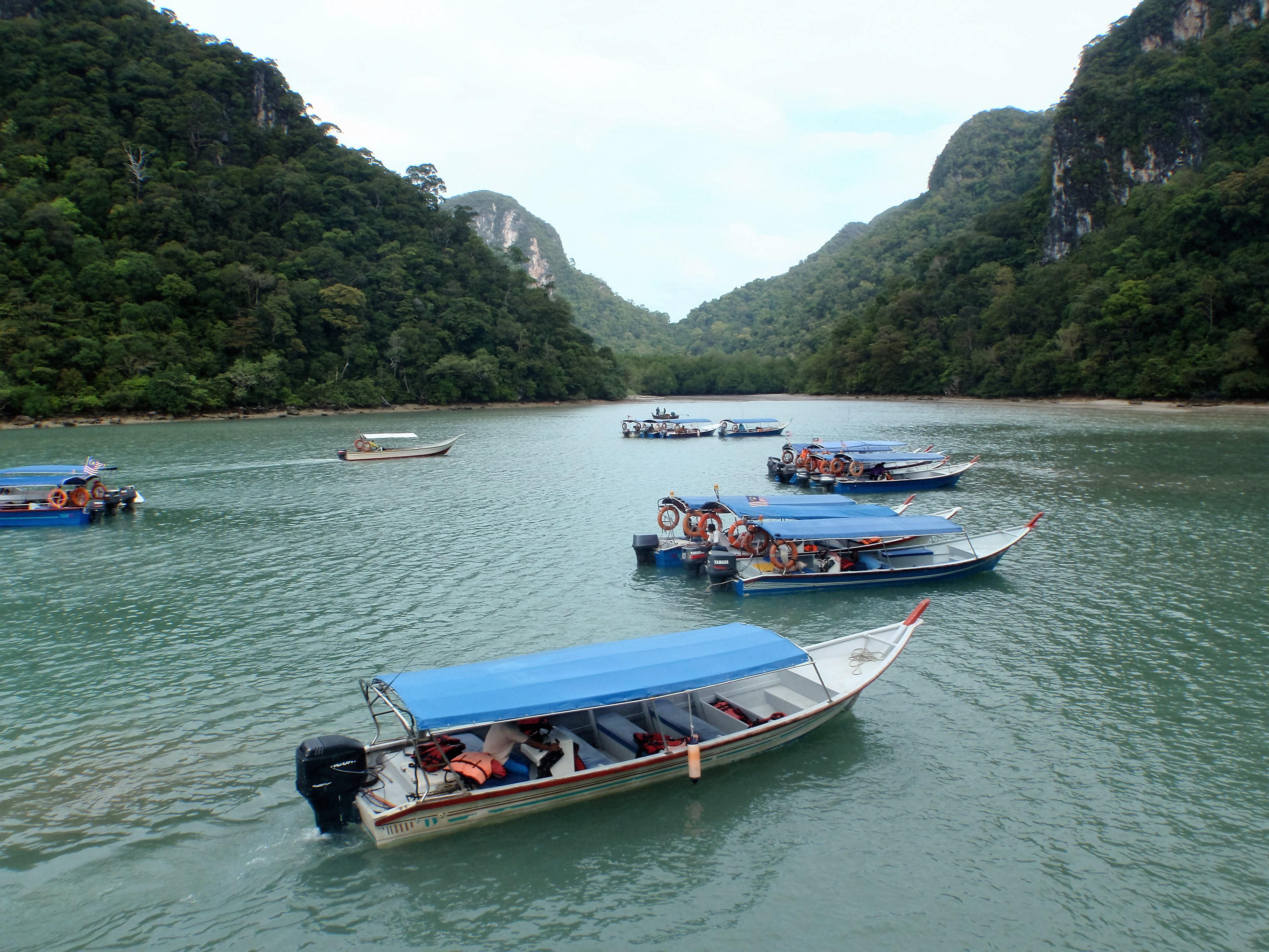 On the way to Dayang Bunting Island Langkawi