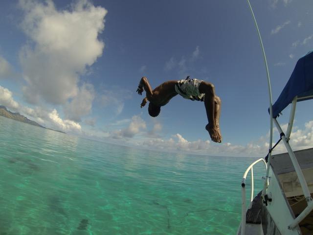 Backflipping Fijian