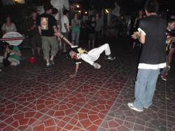 Bangkok Street dancing