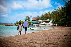Walk to your private Seaplane