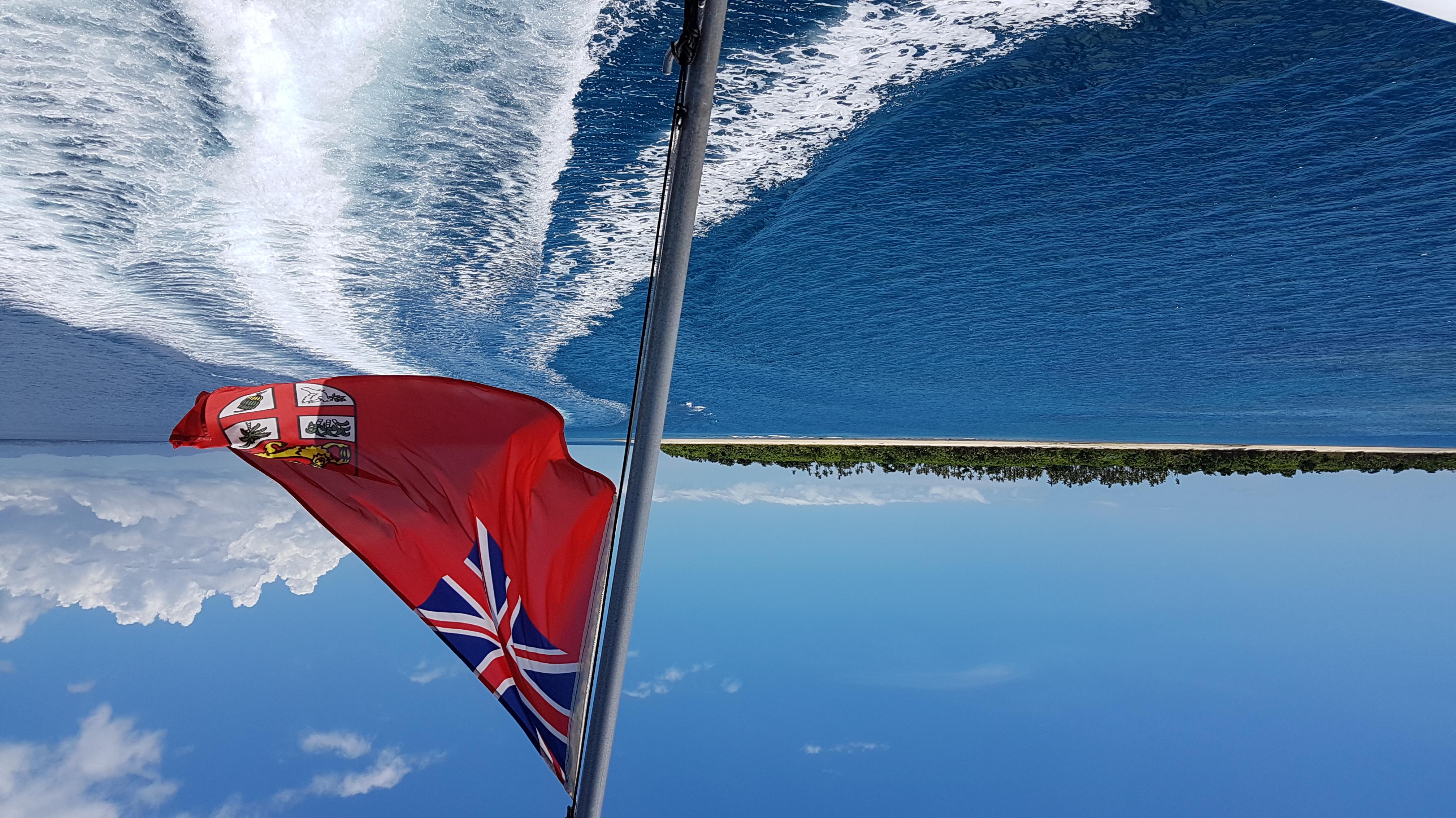 Island hopping in the Yasawa's Fiji