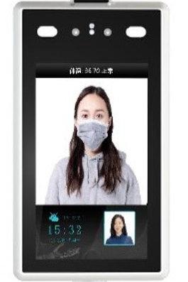 Temperature, Mask & Facial Detection Device