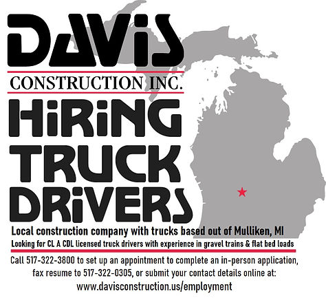 Now Hiring Truck Drivers - Lansing, MI area