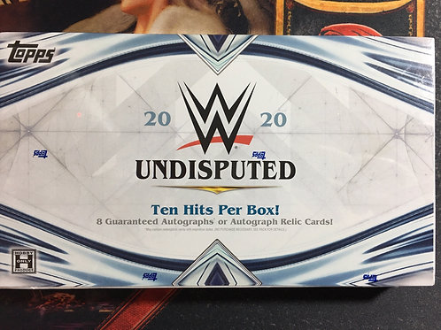 PICK A PACK 2020 TOPPS WWE UNDISPUTED HOBBY BOX