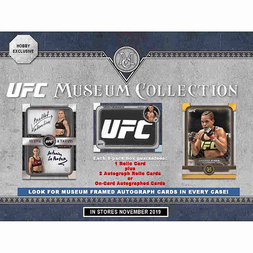 2019 TOPPS UFC MUSEUM COLLECTION - HOBBY