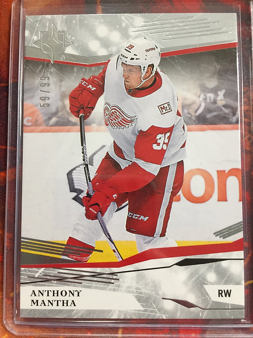 2017-18 Ultimate Collection #45 Anthony Mantha 59/99