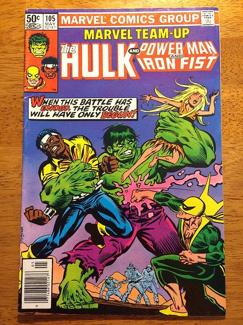 The Hulk Power Man Iron Fist #105 May 1981 Comic Book