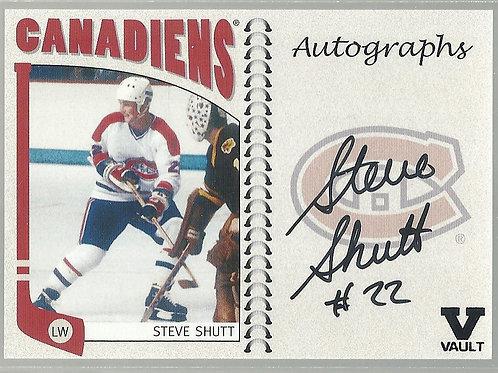 Steve Shutt (Final Vault) 2004-05 ITG Franchises Canadian Autographs #SSH