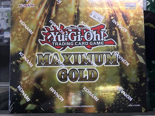 YU-GI-OH CCG: MAXIMUM GOLD BOX