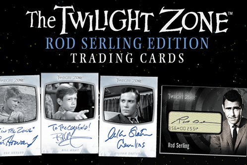 THE TWILIGHT ZONE - ROD SERLING EDITION - TRADING CARDS (2019)