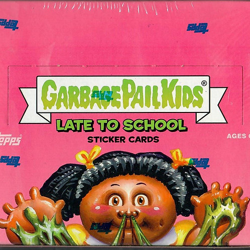 2020 Topps Garbage Pail Kids Series 1- Late to School (1) Hobby Box
