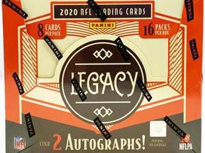 PICK-A-PACK - 2020 Legacy Football - BOX #01